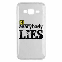 Чохол для Samsung J3 2016 Everybody LIES House