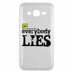Чехол для Samsung J5 2015 Everybody LIES House