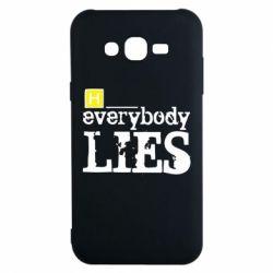 Чехол для Samsung J7 2015 Everybody LIES House