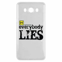 Чехол для Samsung J7 2016 Everybody LIES House