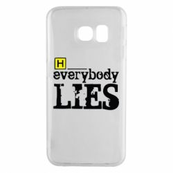 Чехол для Samsung S6 EDGE Everybody LIES House