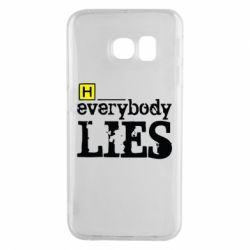 Чохол для Samsung S6 EDGE Everybody LIES House