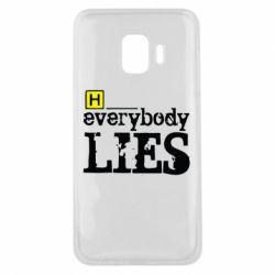 Чохол для Samsung J2 Core Everybody LIES House