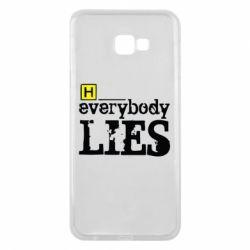 Чехол для Samsung J4 Plus 2018 Everybody LIES House