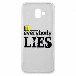 Чехол для Samsung J6 Plus 2018 Everybody LIES House