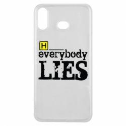Чехол для Samsung A6s Everybody LIES House