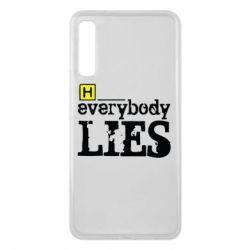 Чехол для Samsung A7 2018 Everybody LIES House