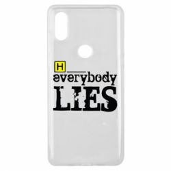 Чехол для Xiaomi Mi Mix 3 Everybody LIES House