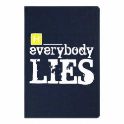 Блокнот А5 Everybody LIES House