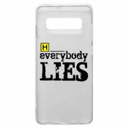 Чехол для Samsung S10+ Everybody LIES House