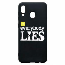 Чохол для Samsung A20 Everybody LIES House
