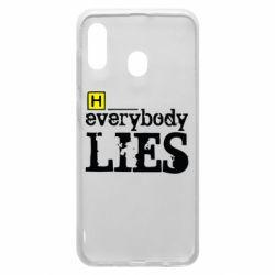 Чехол для Samsung A30 Everybody LIES House