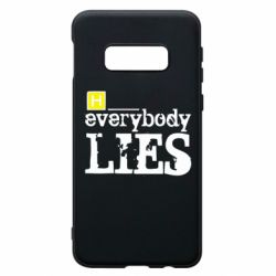 Чохол для Samsung S10e Everybody LIES House