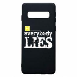 Чохол для Samsung S10 Everybody LIES House