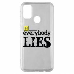 Чохол для Samsung M30s Everybody LIES House