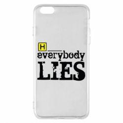Чехол для iPhone 6 Plus/6S Plus Everybody LIES House