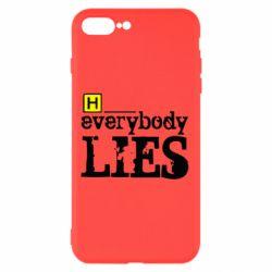 Чехол для iPhone 7 Plus Everybody LIES House