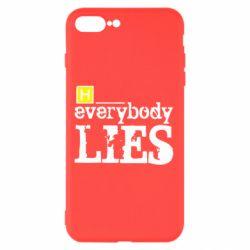 Чехол для iPhone 8 Plus Everybody LIES House