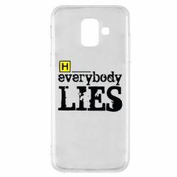 Чехол для Samsung A6 2018 Everybody LIES House