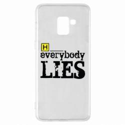 Чехол для Samsung A8+ 2018 Everybody LIES House