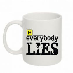 Кружка 320ml Everybody LIES House