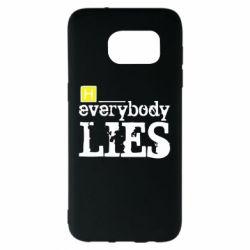 Чехол для Samsung S7 EDGE Everybody LIES House