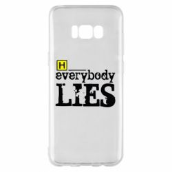 Чехол для Samsung S8+ Everybody LIES House