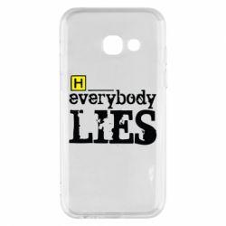 Чохол для Samsung A3 2017 Everybody LIES House