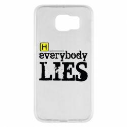 Чехол для Samsung S6 Everybody LIES House