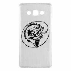 Чехол для Samsung A7 2015 Evil fish