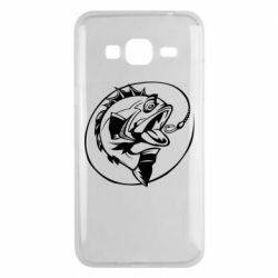Чехол для Samsung J3 2016 Evil fish