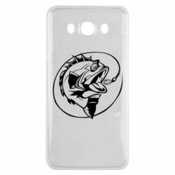 Чехол для Samsung J7 2016 Evil fish