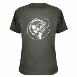 Камуфляжная футболка Evil fish