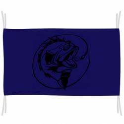 Флаг Evil fish
