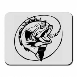 Коврик для мыши Evil fish
