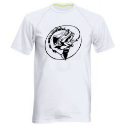 Мужская спортивная футболка Evil fish