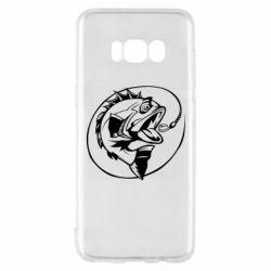 Чехол для Samsung S8 Evil fish