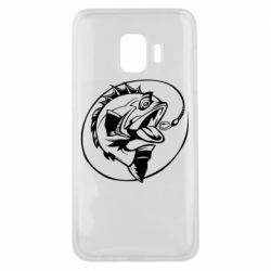 Чехол для Samsung J2 Core Evil fish