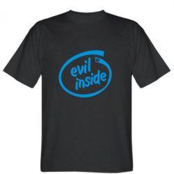 Мужская футболка Evil Inside - FatLine