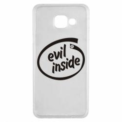 Чехол для Samsung A3 2016 Evil Inside