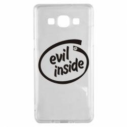 Чехол для Samsung A5 2015 Evil Inside