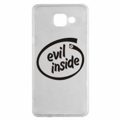 Чехол для Samsung A5 2016 Evil Inside