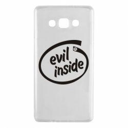 Чехол для Samsung A7 2015 Evil Inside