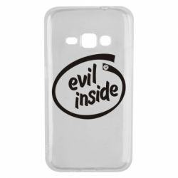 Чехол для Samsung J1 2016 Evil Inside