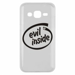 Чехол для Samsung J2 2015 Evil Inside