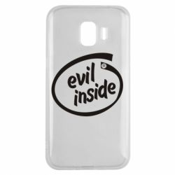 Чехол для Samsung J2 2018 Evil Inside