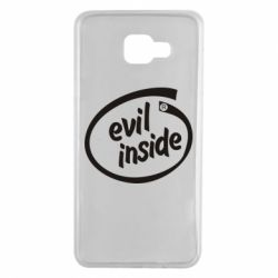 Чехол для Samsung A7 2016 Evil Inside