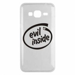 Чохол для Samsung J3 2016 Evil Inside