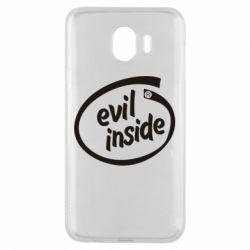 Чехол для Samsung J4 Evil Inside