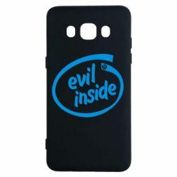 Чехол для Samsung J5 2016 Evil Inside